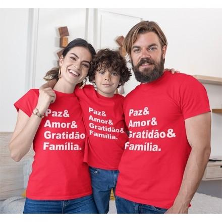 Kit Camiseta Família Natal - 3 peças - CA1033