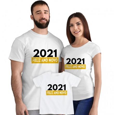 Kit Camisetas Feliz Ano Novo CA0889