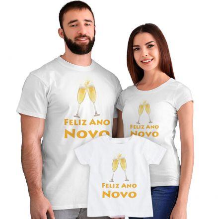Kit Camisetas Feliz Ano Novo CA0890