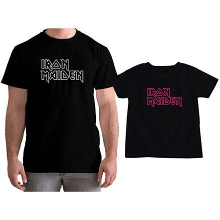 Kit Camisetas Tal Pai Tal Filha Iron Maden CA0857