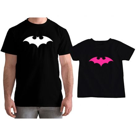 Kit Camisetas Tal Pai Tal Filha Batman CA0771