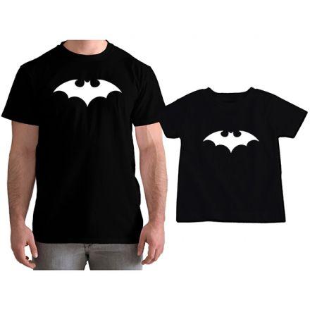 Kit Camisetas Tal Pai Tal Filho Batman CA0753