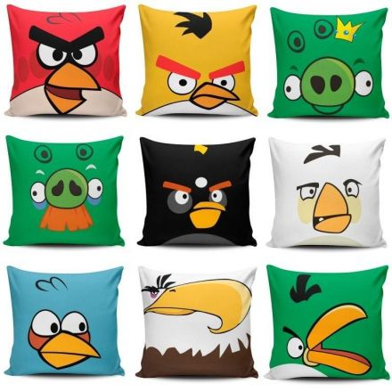 Kit de Almofadas Angry Birds