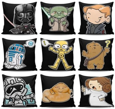 Kit de Almofadas Star Wars
