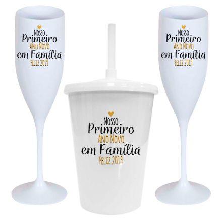 Kit Taças de Ano Novo CO0017