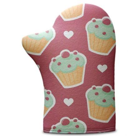 Luva de Cozinha Bolo Cupcake