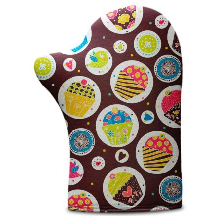 Luva de Cozinha Cupcake