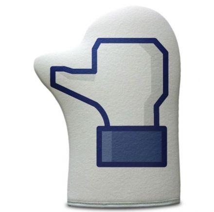 Luva de Cozinha Curtir Facebook