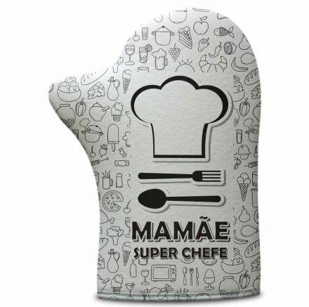 Luva de Cozinha Mamãe Super Chefe