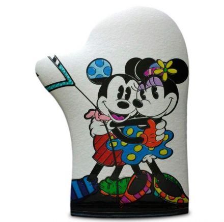 Luva de Cozinha Mickey e Minnie