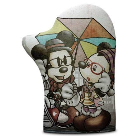 Luva de Cozinha Minnie e Mickey
