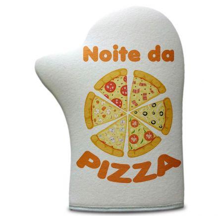 Luva de Cozinha Noite da Pizza