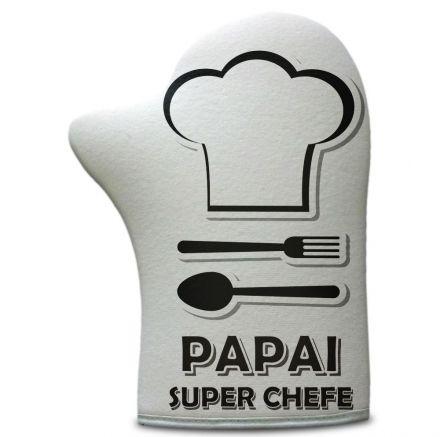 Luva de Cozinha Papai Super Chefe