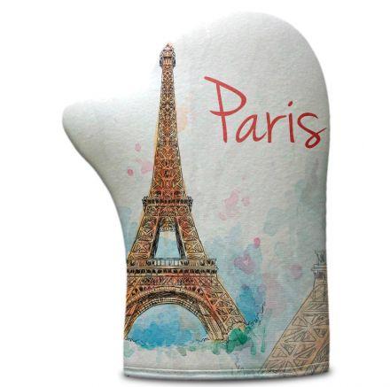 Luva de Cozinha Paris Torre Eiffel