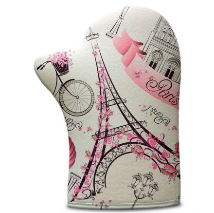 Luva de Cozinha Torre Eiffel Paris