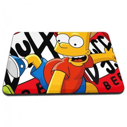Mouse Pad Bart Simpsons