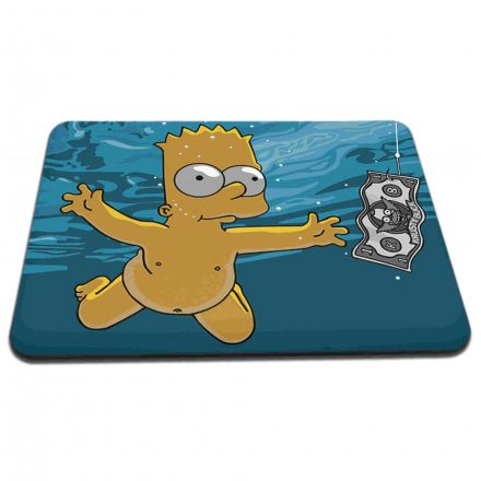 Mouse Pad Bart Simpsons Nirvana