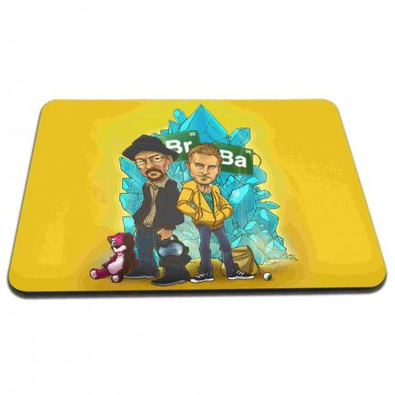 Mouse Pad Desenho Série Breaking Bad