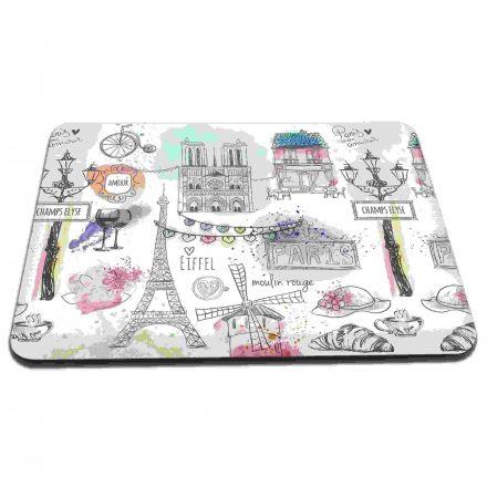 Mouse Pad Desenhos Paris