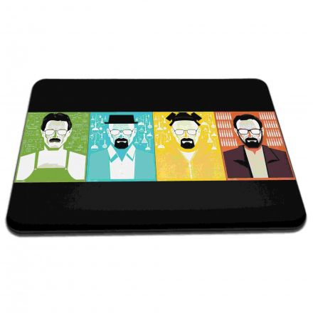 Mouse Pad Fases Série Breaking Bad