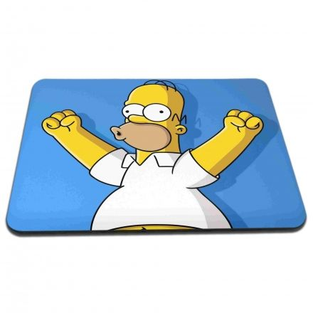 Mouse Pad Homer Simpsons Comemorando