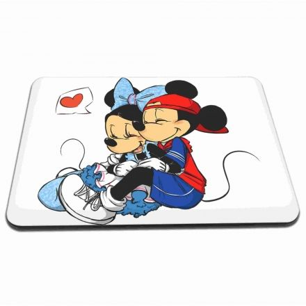 Mouse Pad Mickey e Minnie Apaixonados