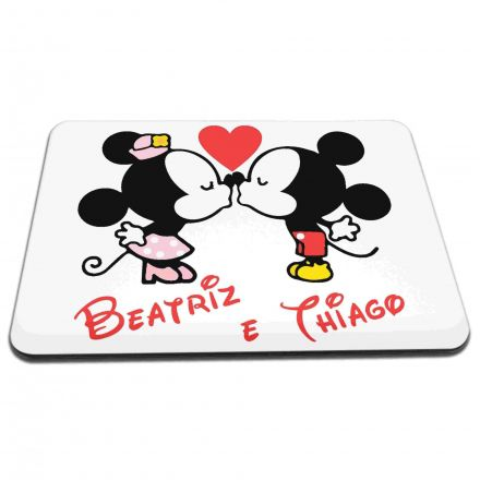 Mouse Pad Personalizado Mickey e Minnie