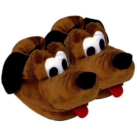 Pantufa Cachorro Marrom