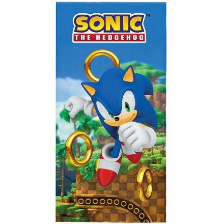 Toalha Aveludada Sonic - 1 Peça - FR1081