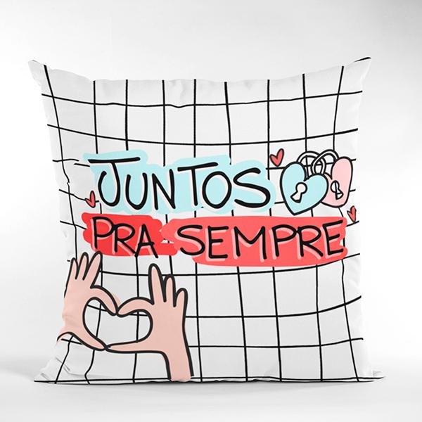 Almofada Juntos Para Sempre - CA1326