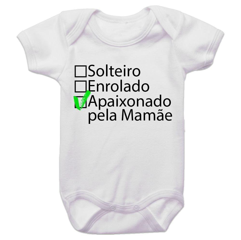 Body Bebê Apaixonado pela Mamãe