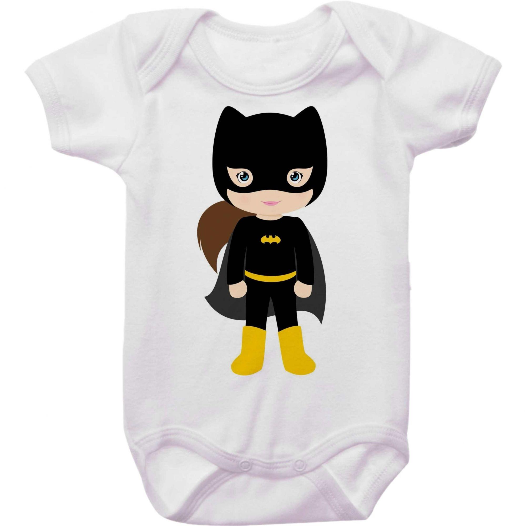 Body Bebê Batgirl