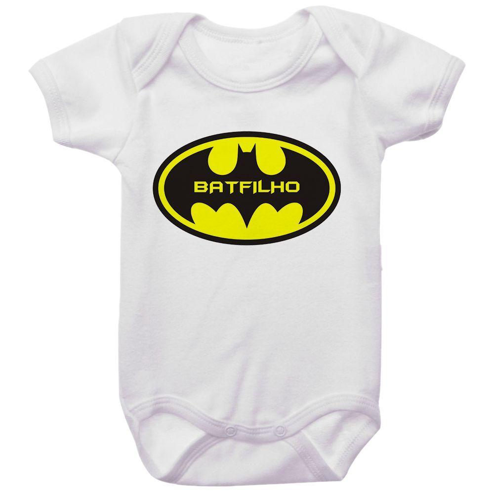 Body Bebê Batman BatFilho