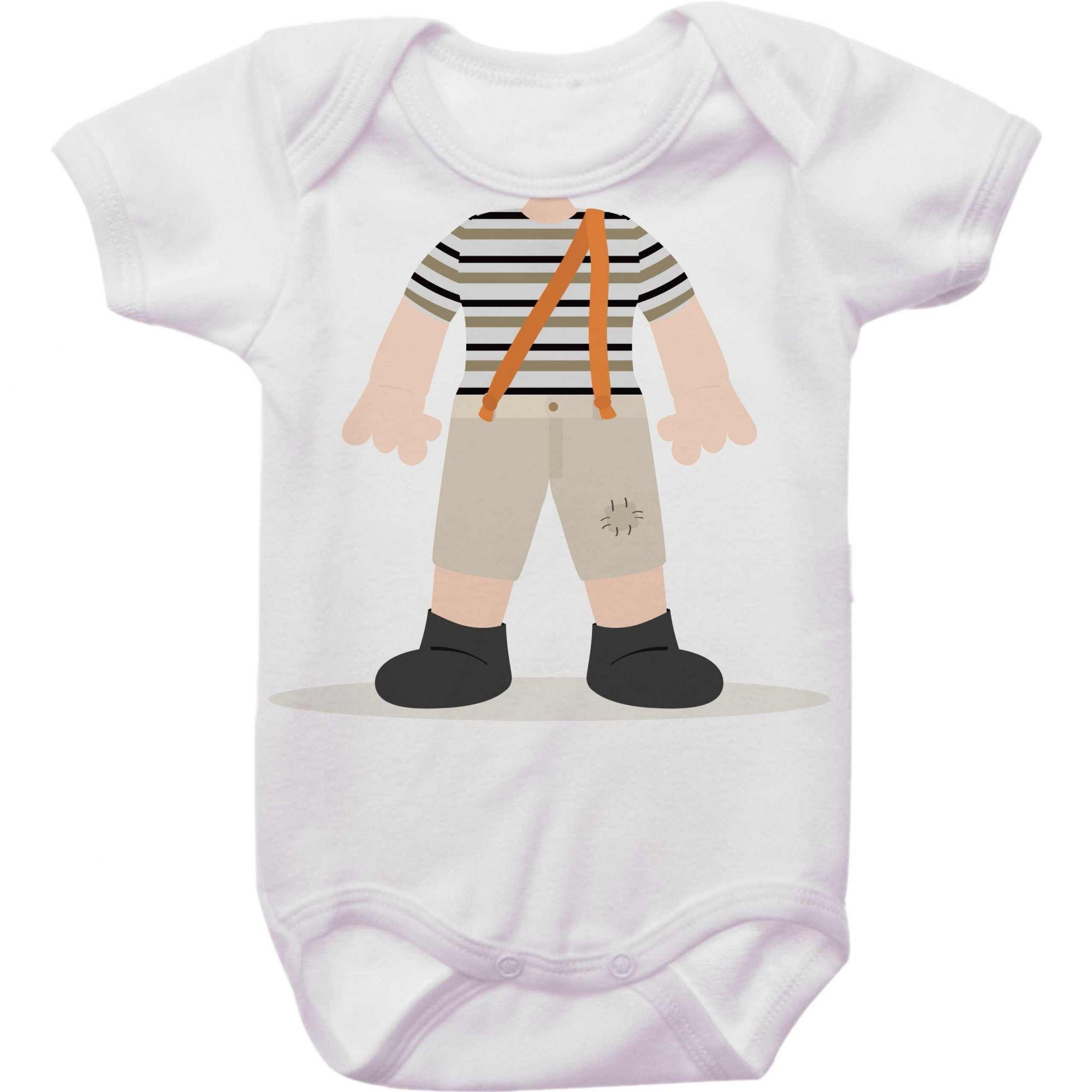 Body Bebê Chaves Sem Cabeça