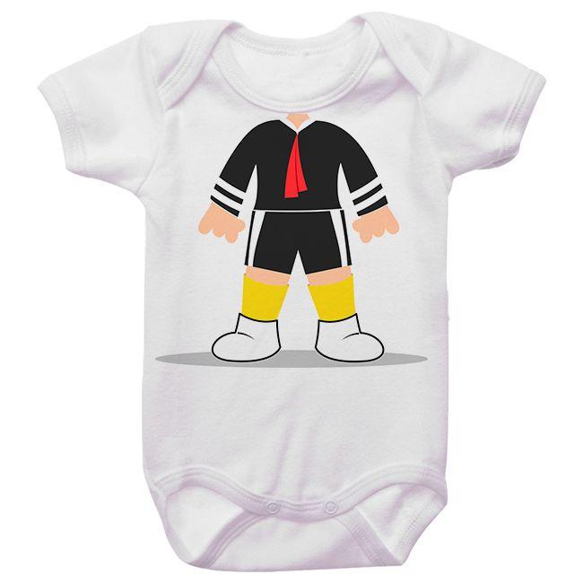 Body Bebê Kiko Chaves Sem Cabeça