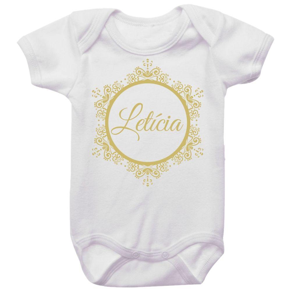 Body Bebê Personalizado Brasão