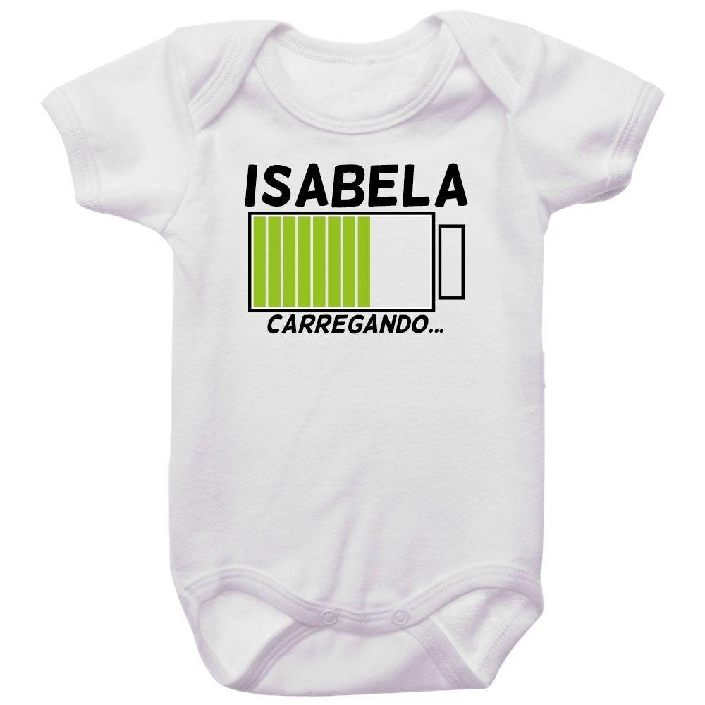 Body Bebê Personalizado Carregando