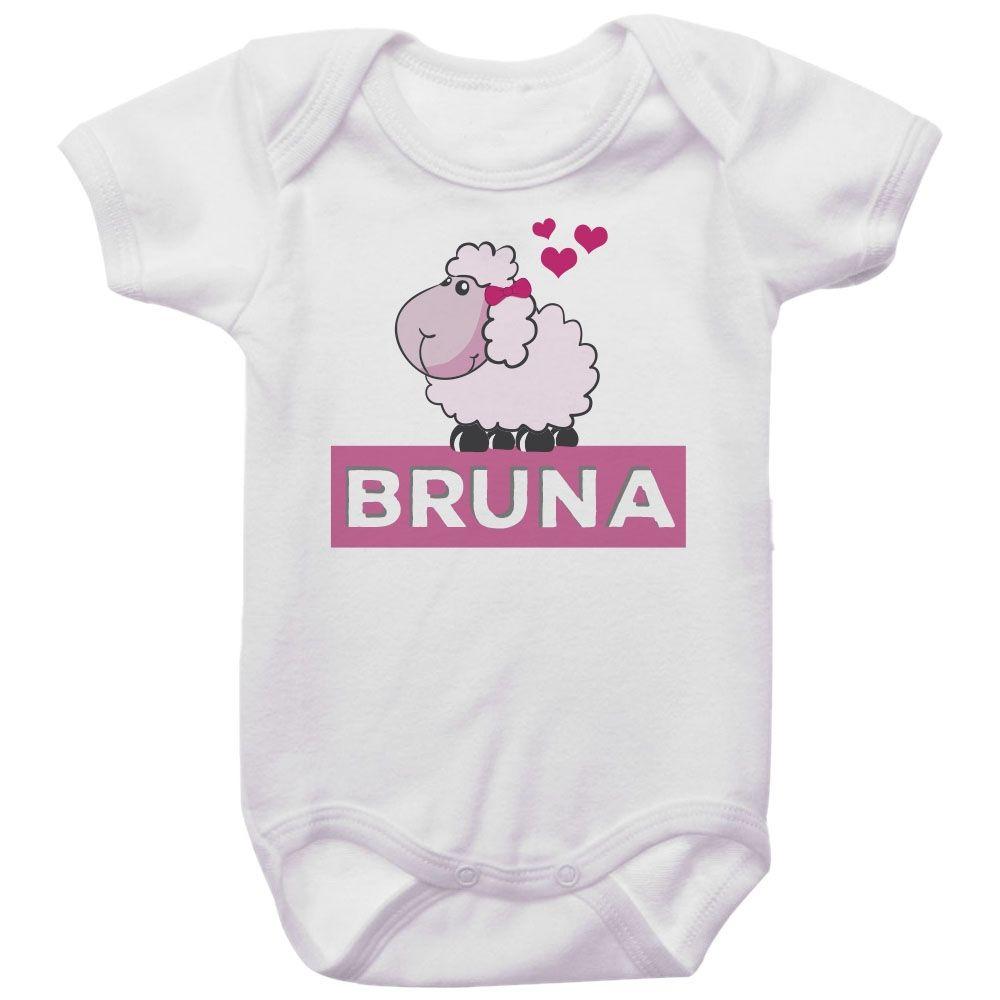 Body Bebê Personalizado Ovelha