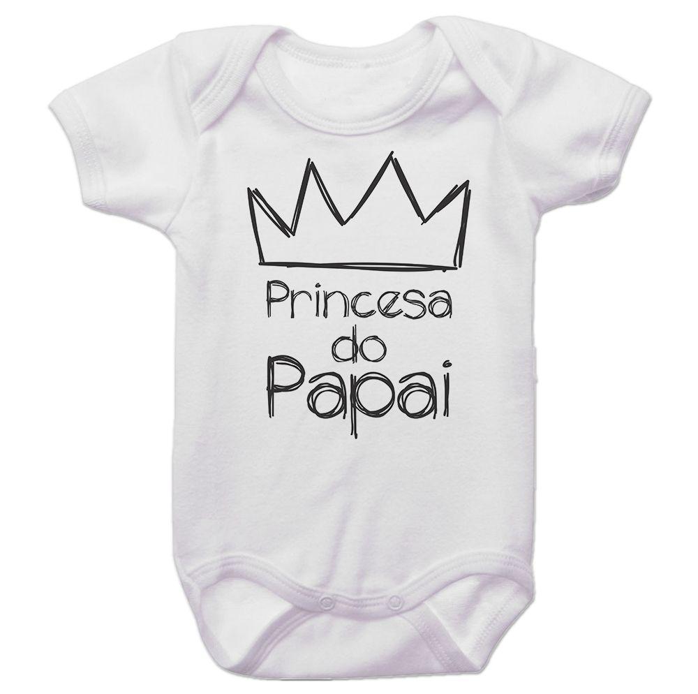 Body Bebê Princesa do Papai