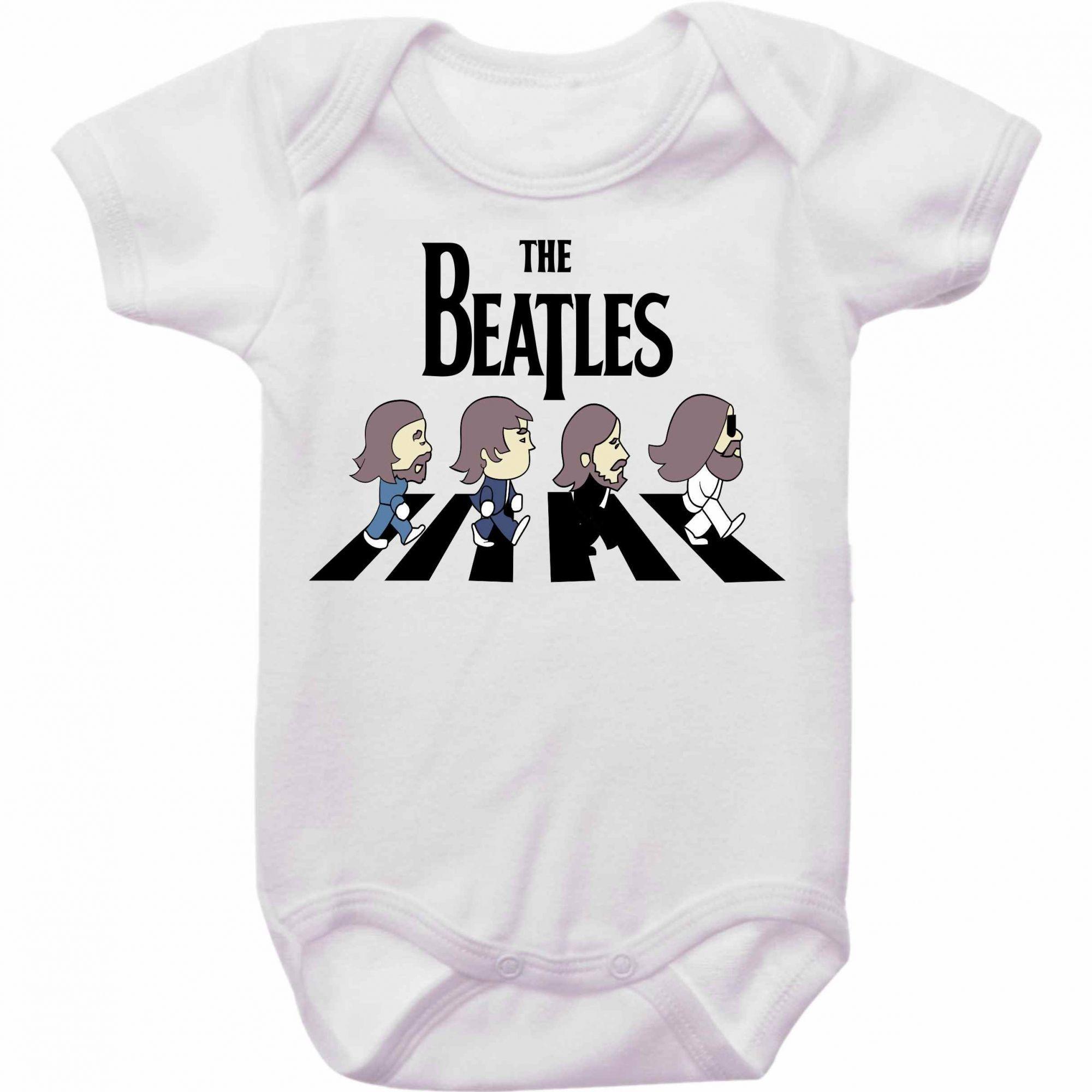 Body Bebê Rock Beatles