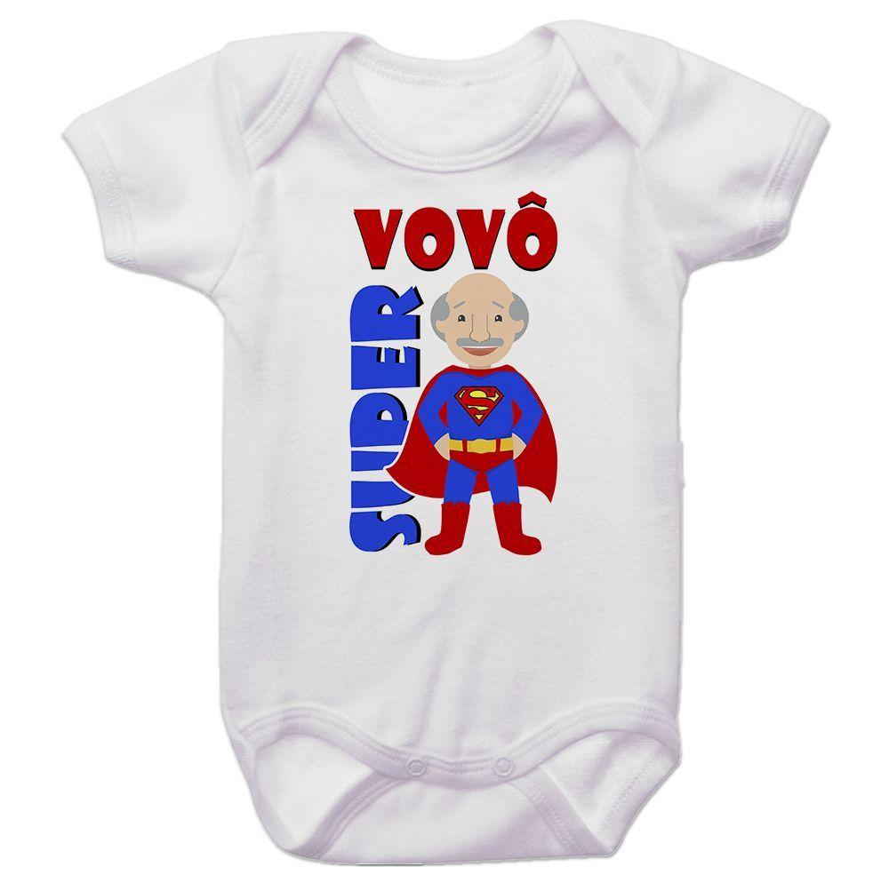 Body Bebê Super Vovô