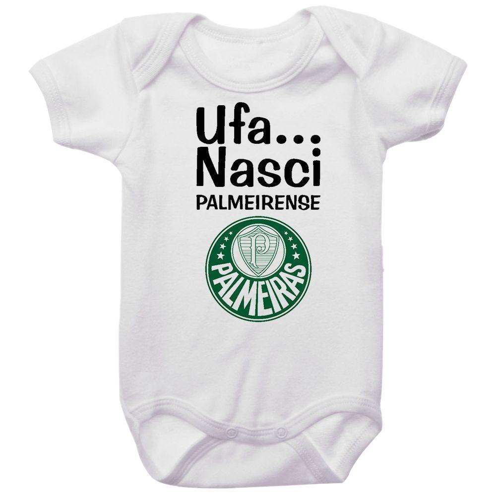 Body Bebê Ufa Nasci Palmeirense