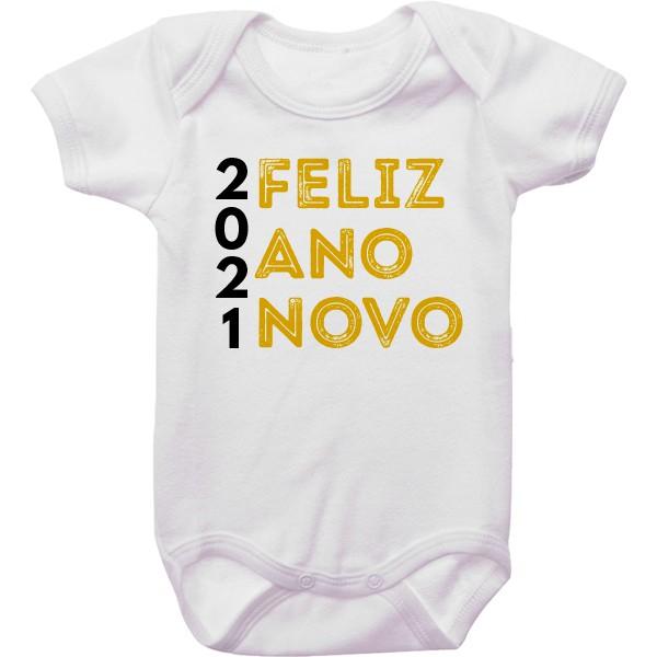 Body de Bebê Ano Novo CA0936