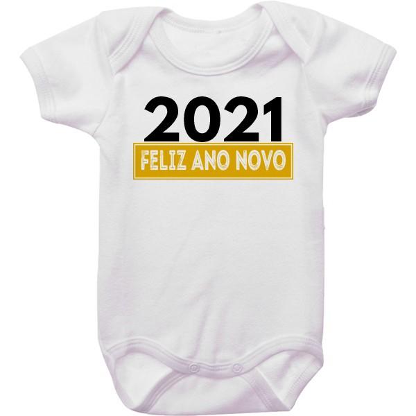 Body de Bebê Ano Novo CA0939