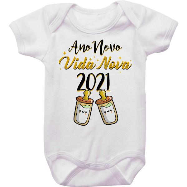 Body de Bebê Ano Novo CA0942