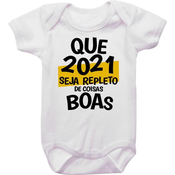 Body de Bebê Ano Novo CA0944