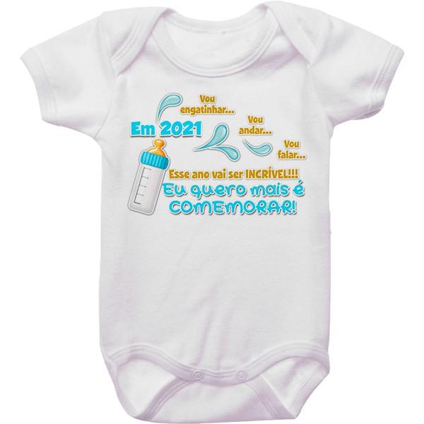 Body de Bebê Ano Novo CA0949