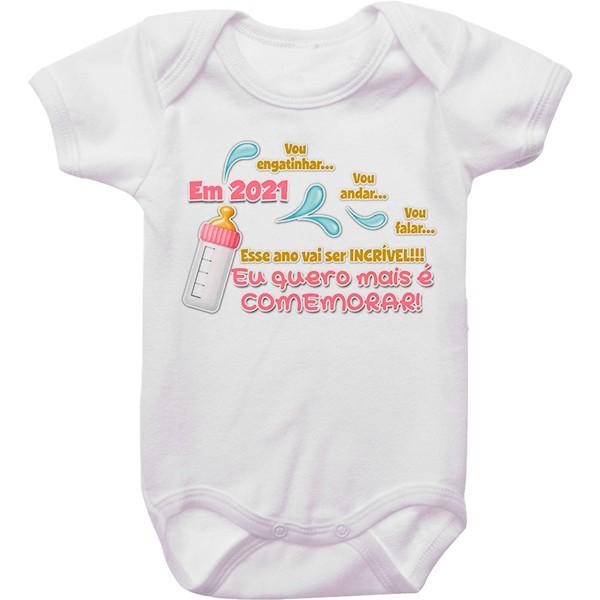 Body de Bebê Ano Novo CA0950
