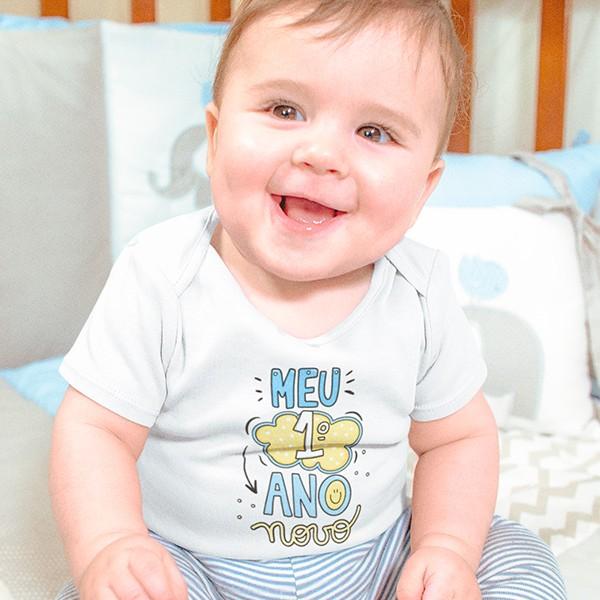 Body de Bebê Ano Novo - CA1128