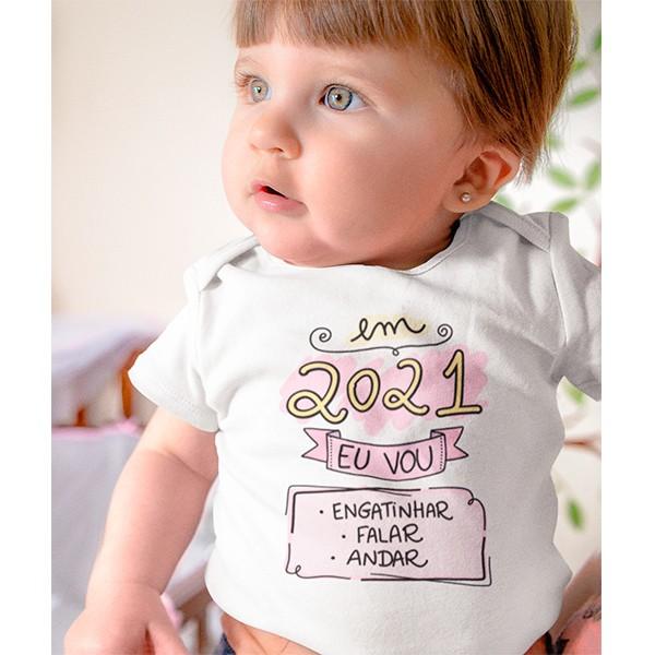 Body de Bebê Ano Novo - CA1129